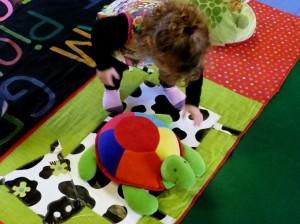 pion tortue sur vache